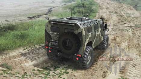 GAZ-2975 Tiger [diesel][25.12.15] for Spin Tires