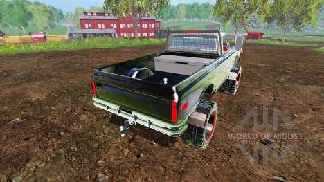Chevrolet C10 Cheyenne 1972 for Farming Simulator 2015