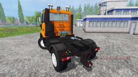 Mercedes-Benz Unimog U400 v1.1 for Farming Simulator 2015