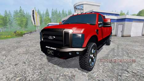 Ford F-250 2009 for Farming Simulator 2015