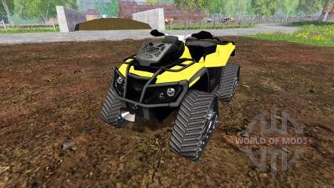 Can-Am Outlander 1000 XT [quadtrac] for Farming Simulator 2015