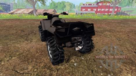 Can-Am Outlander 1000 XT [black] for Farming Simulator 2015