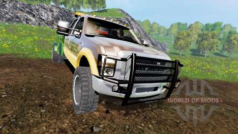 Ford F-350 [welding bed] v2.1 for Farming Simulator 2015