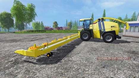 Krone Big X 1100 [Kemper Cutter] for Farming Simulator 2015
