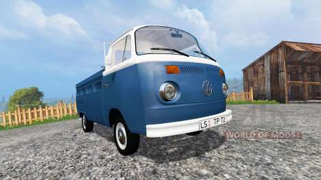 Volkswagen Transporter T2B 1972 v1.0 for Farming Simulator 2015