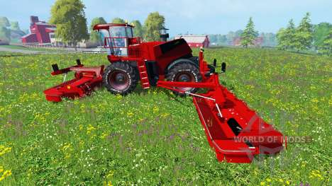 Krone Big M 500 [red] for Farming Simulator 2015