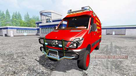 Mercedes-Benz Sprinter [feuerwehr] for Farming Simulator 2015