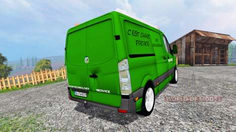 Volkswagen Crafter Service [pour galax] for Farming Simulator 2015