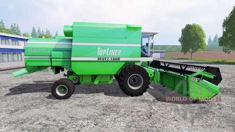 Deutz-Fahr TopLiner 4080 HTS [pack] for Farming Simulator 2015