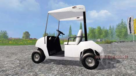 The Golf cart for Farming Simulator 2015