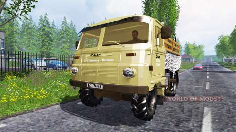 Robur LD 3000 in traffic for Farming Simulator 2015