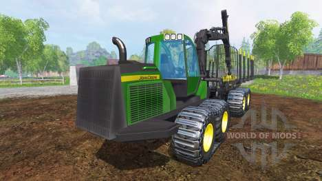 John Deere 1510E v2.0 for Farming Simulator 2015