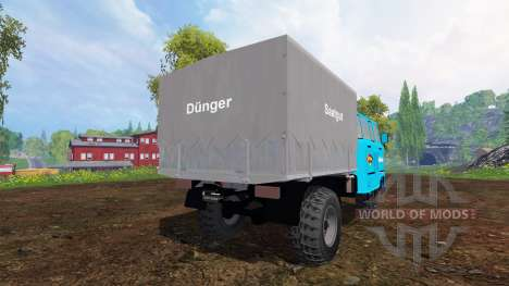 IFA W50L Service for Farming Simulator 2015