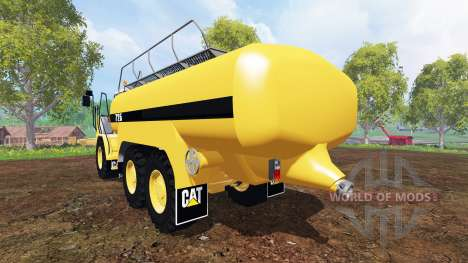 Caterpillar 725A [liquid manure] for Farming Simulator 2015