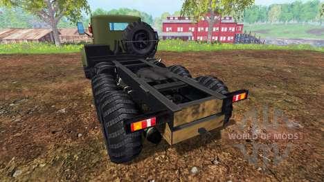 KrAZ-255 v2.0 for Farming Simulator 2015