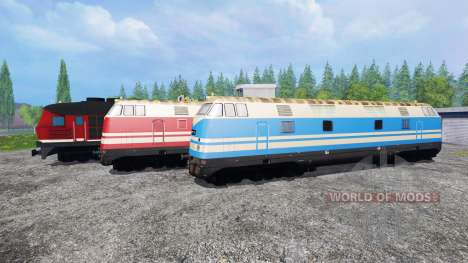Locomotives for Farming Simulator 2015