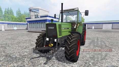 Fendt Farmer 312 LSA v3.0.02 for Farming Simulator 2015