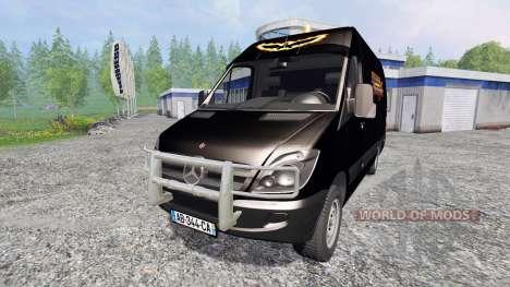 Mercedes-Benz Sprinter Service for Farming Simulator 2015