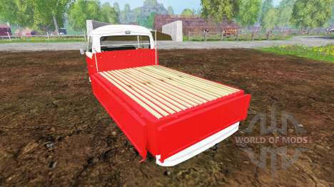 Volkswagen Transporter T2B 1972 [lowered] for Farming Simulator 2015
