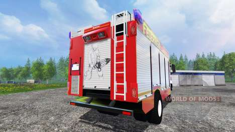 MAN TGM 14.250 Firetruck for Farming Simulator 2015