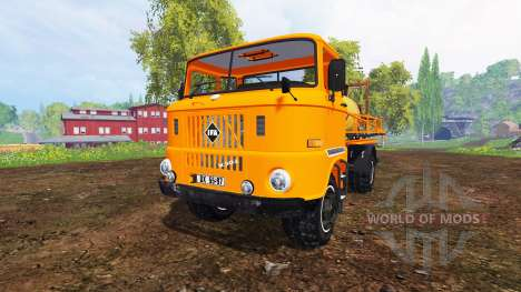 IFA W50 [sprayer] for Farming Simulator 2015