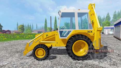 JCB 3CX 4WD v2.0 for Farming Simulator 2015