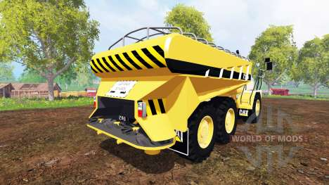Caterpillar 725A [manure spreader] for Farming Simulator 2015