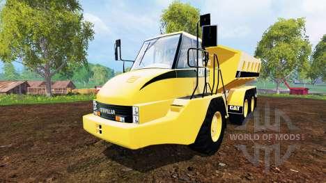 Caterpillar 725A [dump] for Farming Simulator 2015