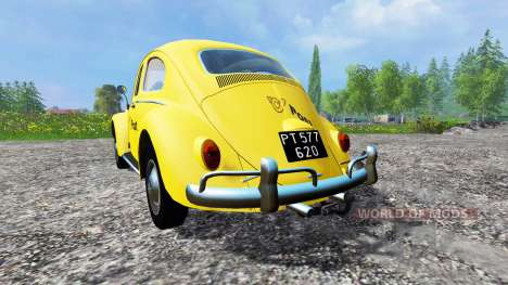 Volkswagen Beetle 1966 [Post Edition] for Farming Simulator 2015