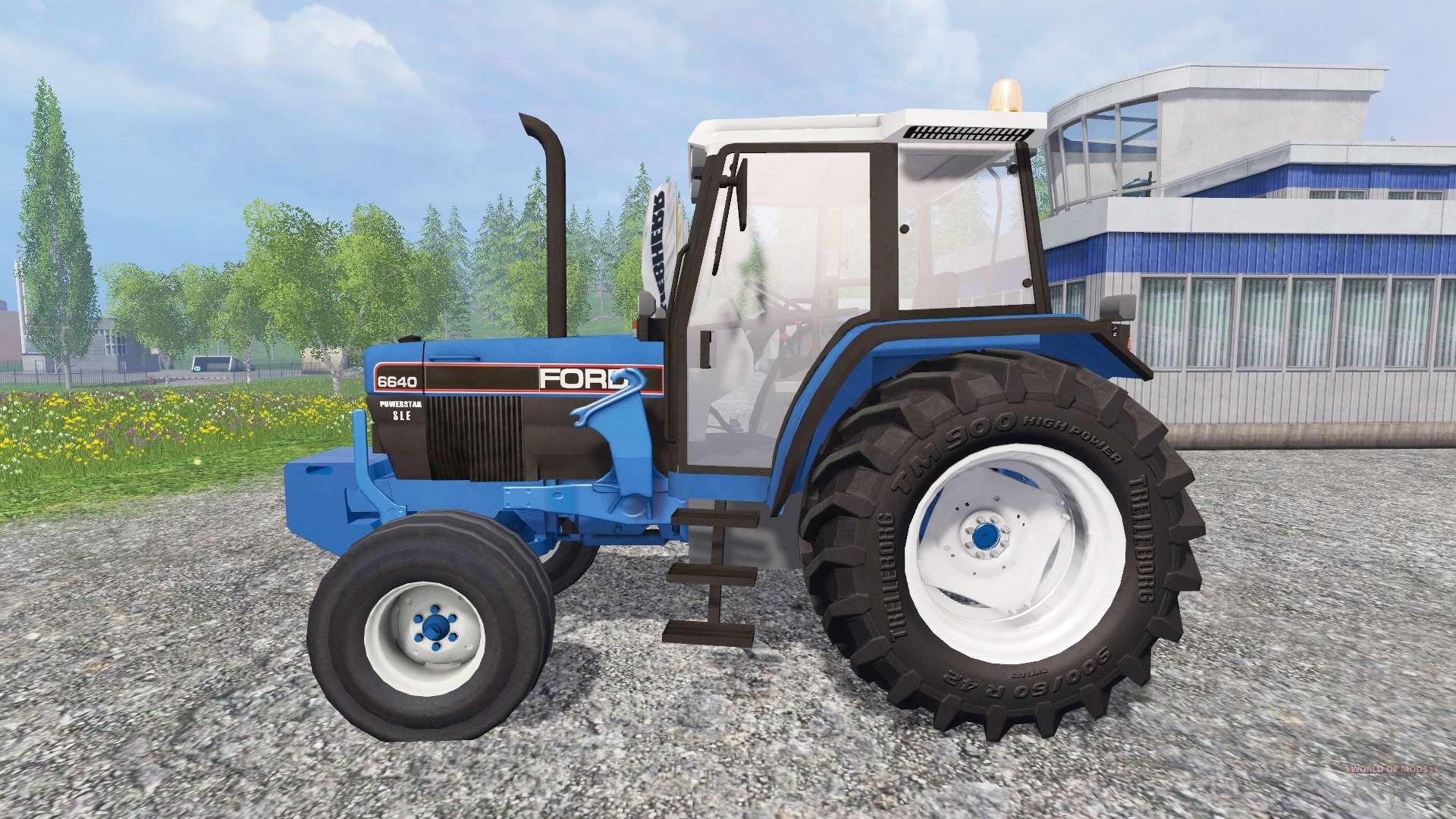 6640 Ford Tractor : Ford fl for farming simulator