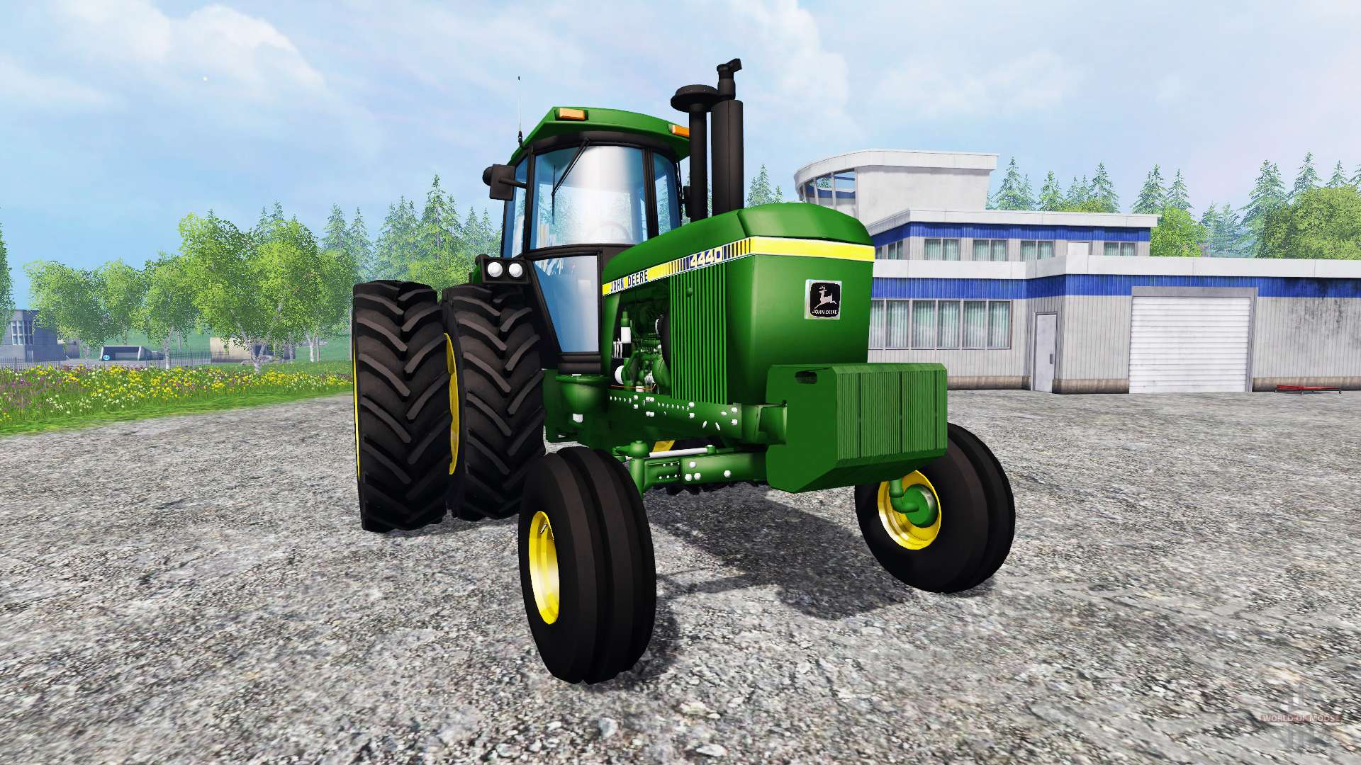 Tractor Simulator 2 : John deere for farming simulator