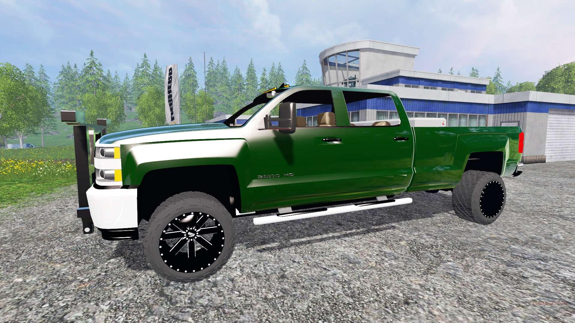Chevrolet Silverado 3500  Plow Truck  V2 0 For Farming