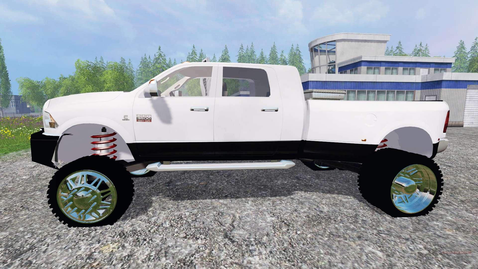 dodge ram 3500 2015 custom for farming simulator 2015. Black Bedroom Furniture Sets. Home Design Ideas