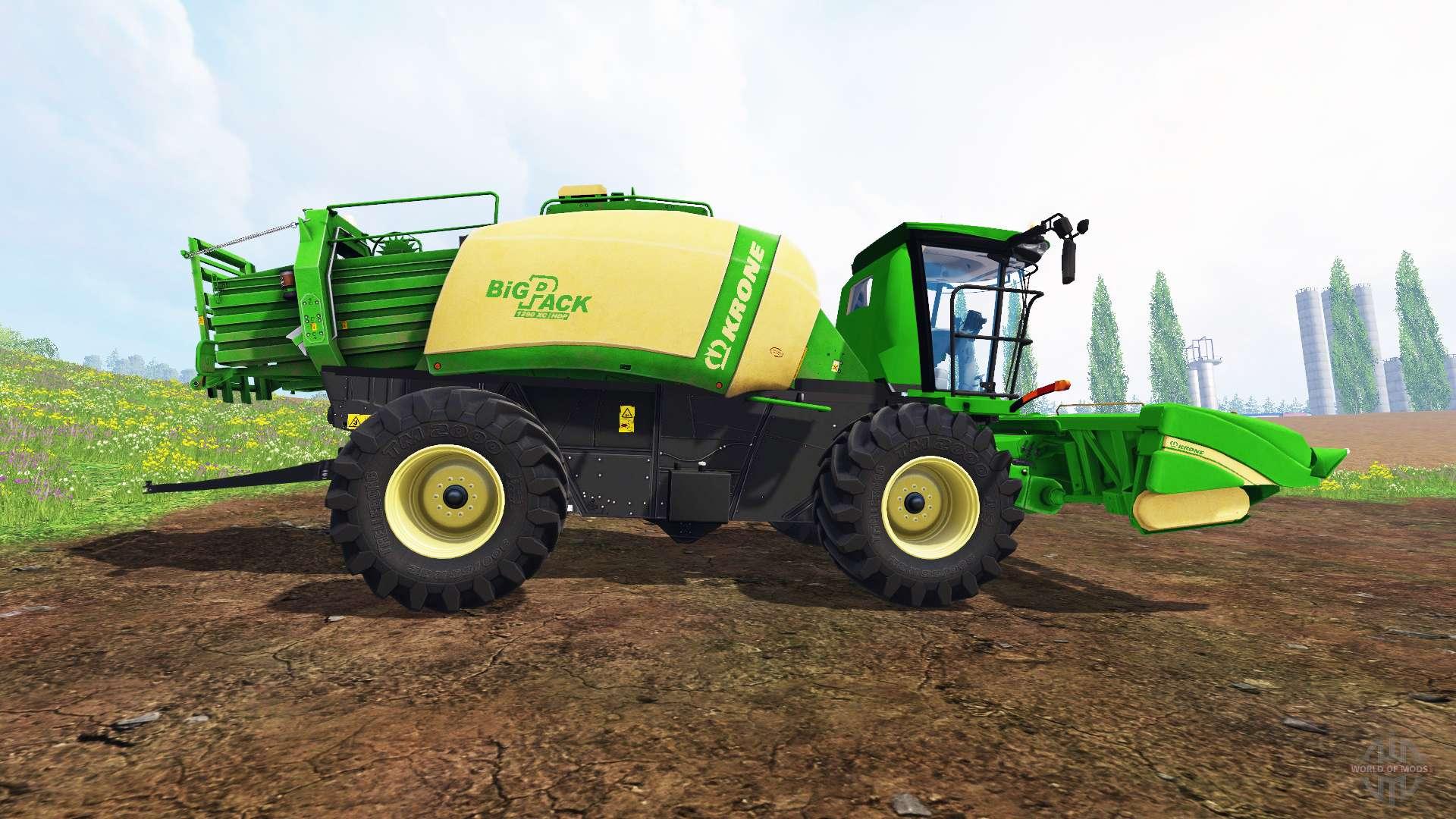 krone baler prototype v3 0 for farming simulator 2015