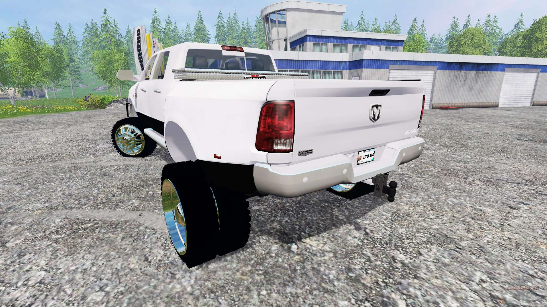 Dodge Ram 3500 2015 Custom For Farming Simulator 2015