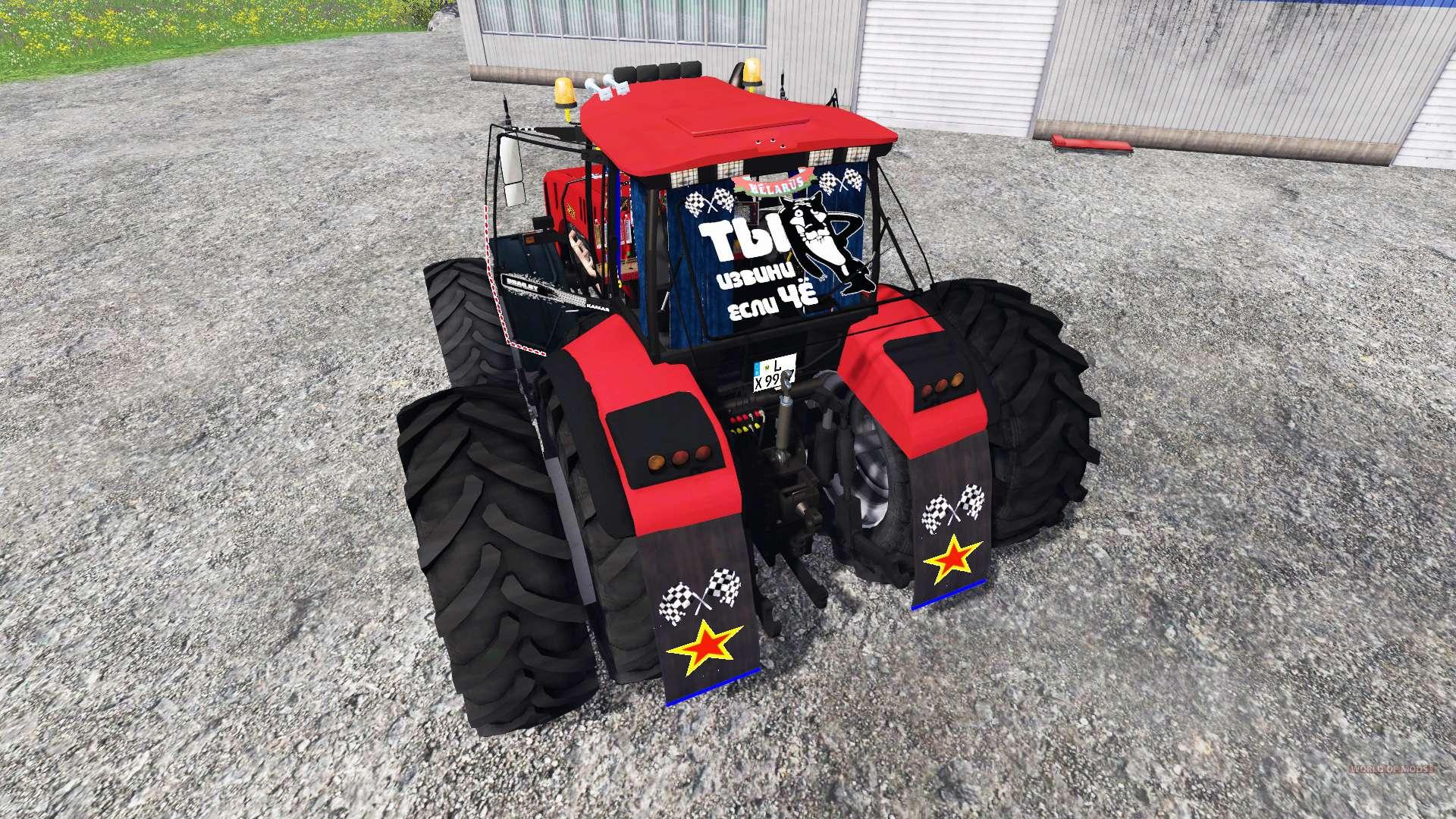 3522 Zebra Zetor Tractor Parts : Belarus twin wheels v for farming simulator
