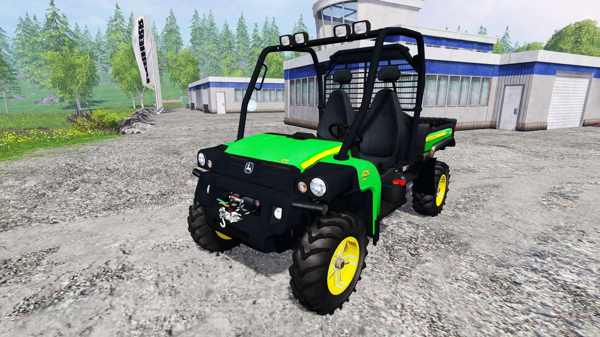 john deere gator 825i for farming simulator 2015. Black Bedroom Furniture Sets. Home Design Ideas