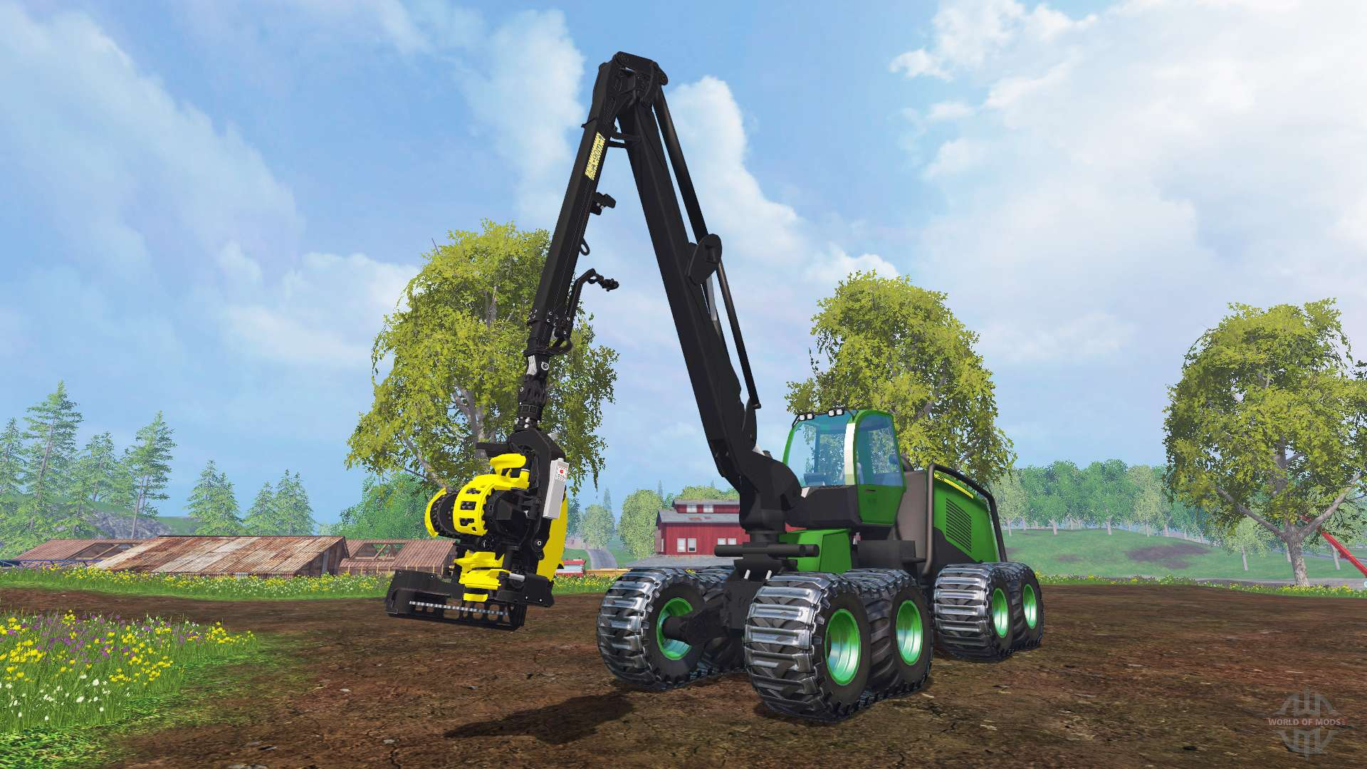 john deere 1270e v1 0 for farming simulator 2015. Black Bedroom Furniture Sets. Home Design Ideas