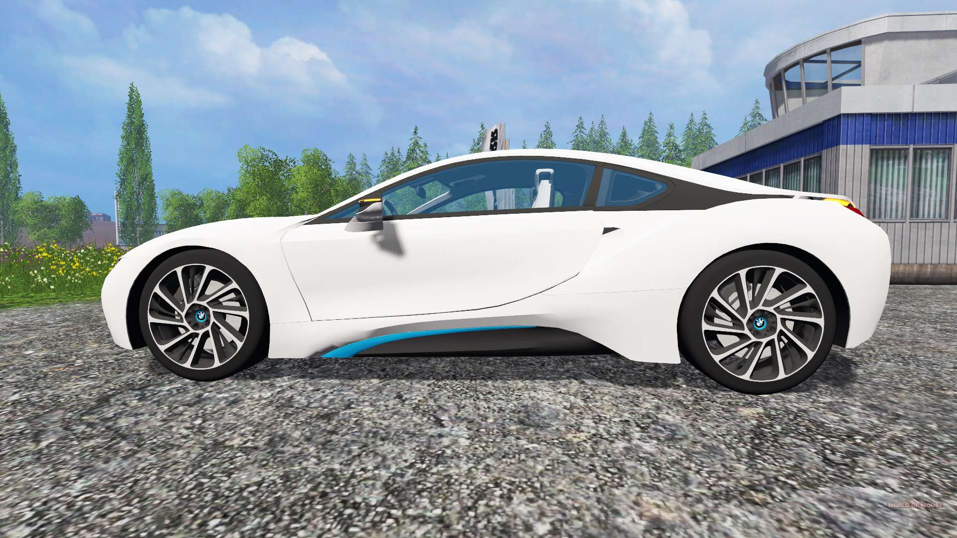 bmw i8 edrive for farming simulator 2015. Black Bedroom Furniture Sets. Home Design Ideas