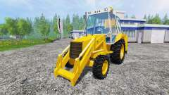 JCB 3CX 4WD v2.0 for Farming Simulator 2015