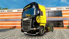 BvB skin for the Scania truck for Euro Truck Simulator 2