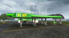 European petrol station for Euro Truck Simulator 2