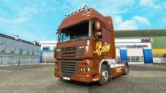 Lion skin for DAF truck for Euro Truck Simulator 2
