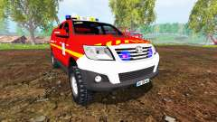 Toyota Hilux VLHR for Farming Simulator 2015