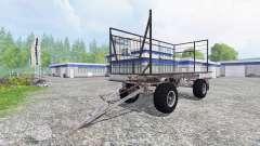 Fortschritt HW 80 Ball Grid Cart for Farming Simulator 2015