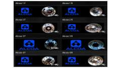 Wheels Alcoa for American Truck Simulator