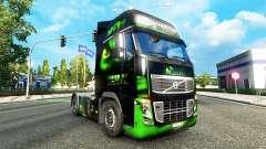 HULK skin for Volvo truck for Euro Truck Simulator 2