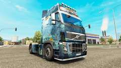 Sea skin for Volvo truck for Euro Truck Simulator 2