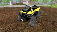 Can-Am Outlander 1000 XT [quadtrac]