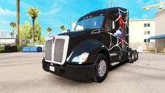 Spiderman skin for Kenworth tractor for American Truck Simulator